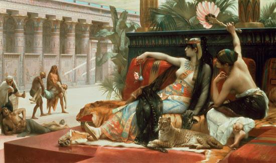Cleopatra, última reina del antiguo Egipto