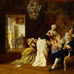 Luis XVI y María Antonieta, reyes de Francia