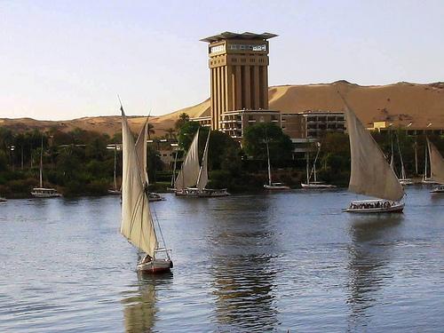 El río Nilo en el Antiguo Egipto