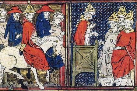 El Papa Urbano II y la Primera Cruzada