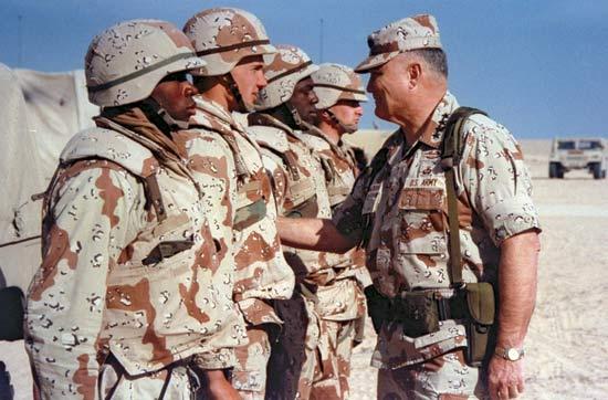Norman Schwarzkopfz en la Operación Tormenta del Desierto