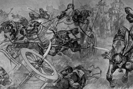 La Batalla de Gaugamela, Alejandro vs. Darío