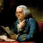 Benjamin Franklin, político e inventor