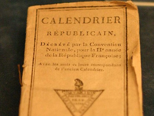 Calendario Republicano francés