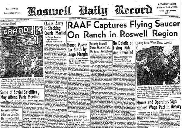 Caso Roswell noticia