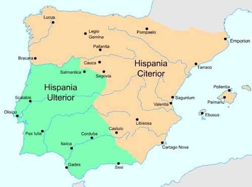 Hispania Citerior y Ulterior