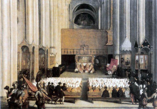 Concilio de Trento, por Tiziano