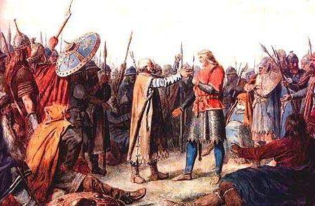 El reinado de Olaf I de Noruega