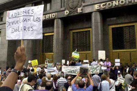 ¿A qué se llamó el Corralito en Argentina?