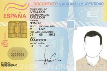 Breve historia del DNI en España