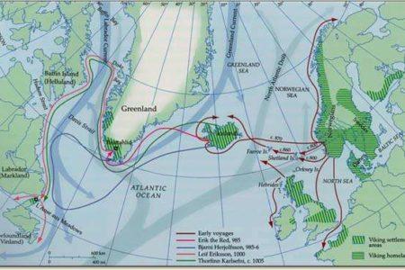 Asentamientos vikingos en Norteamérica