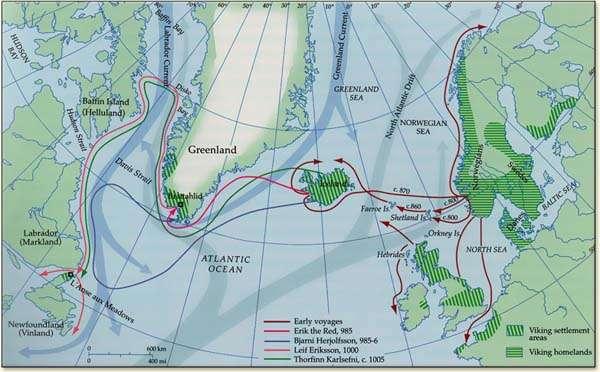 Exploraciones vikingas