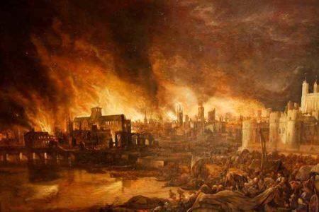 Londres, tras el gran incendio