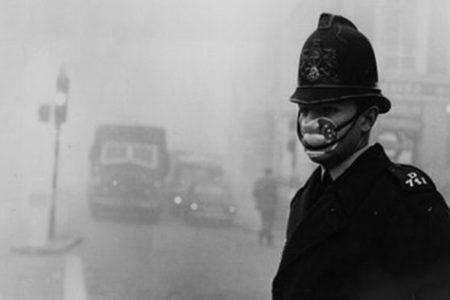 La Gran Niebla de Londres en 1952
