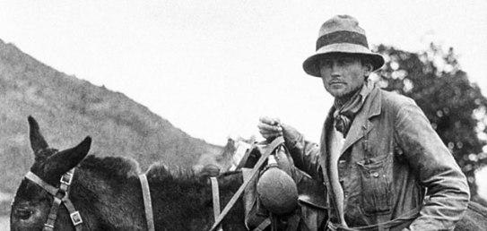 Harry Bingham en Peru 1911