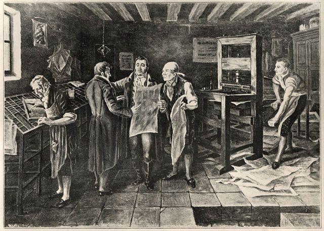 Imprenta difusora del siglo XVI