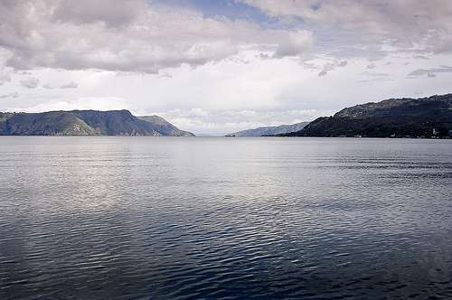 Vista del Lago Toba
