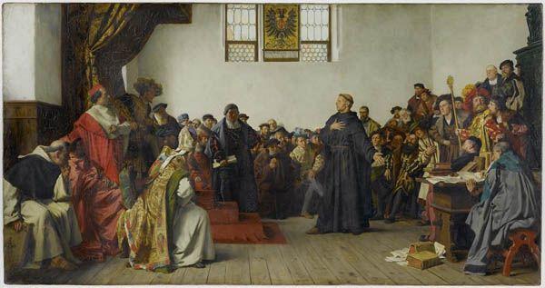 Lutero en la Dieta de Worms
