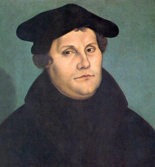 Lutero, por Lucas Cranach el Viejo