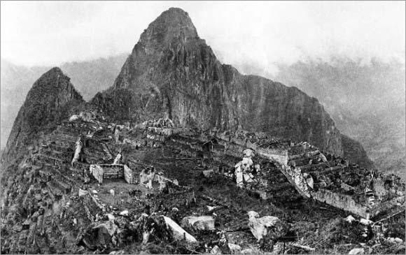 Machu Picchu en 1911