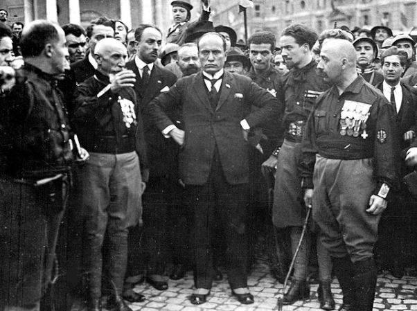 Marcha a Roma de Mussolini