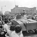 La matanza de Tlatelolco del 68