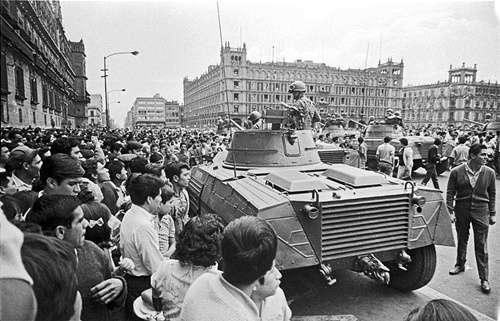 Matanza del 68 en México