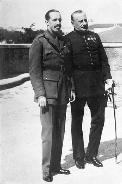 Miguel Primo de Rivera y Alfonso XIII