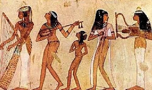 Mujer antiguo egipto