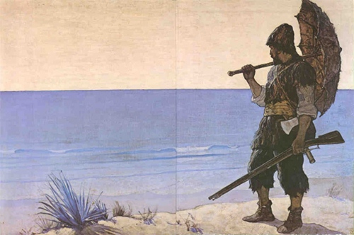 Robinson Crusoe español