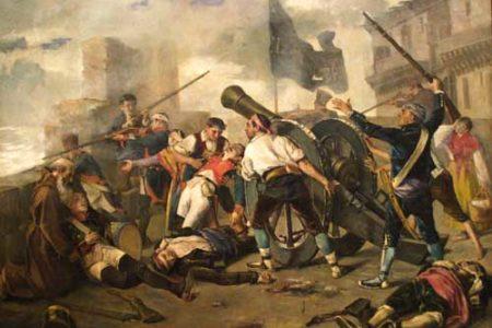 Los Sitios de Zaragoza, episodio de la Guerra de Independencia