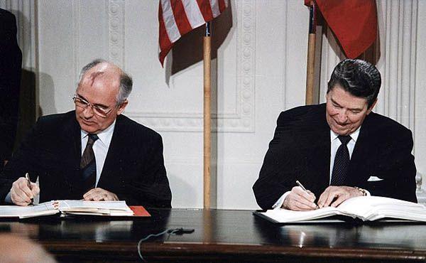 Reunión Reagan Gorbachov