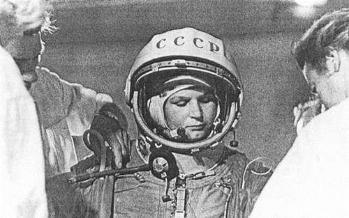 Primera mujer astronauta