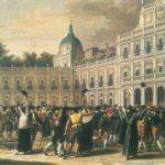 El Motín de Aranjuez, levantamiento popular