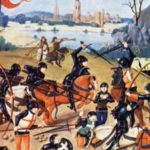 La Batalla de Agincourt, en la Guerra de los 100 años