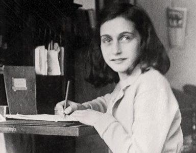 Ana Frank y su testimonio escrito en un diario