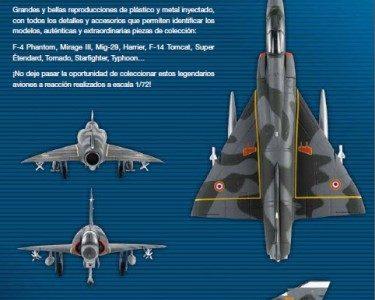 Colección aviones de combate a reacción