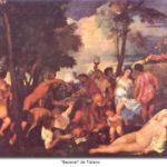 Las Bacanales, de origen romano
