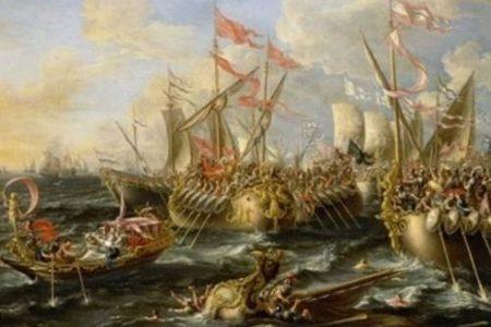 La Batalla de Accio o Actium
