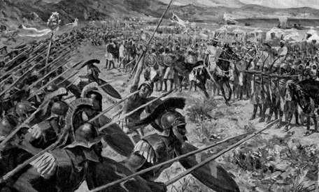 La Batalla de Maratón, el final de los persas