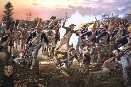 La Batalla de Saratoga en la Guerra de Independencia de EEUU