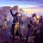 La Batalla del Álamo en Texas