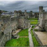 El Castillo de Caernarfon, símbolo de la victoria inglesa sobre Gales