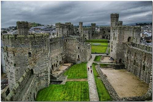 Castillo-de-Caernarfon