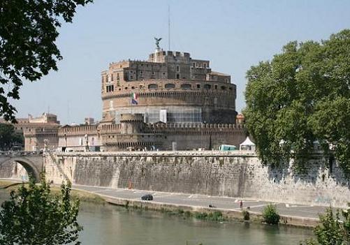 Castillo de Santangelo en Roma