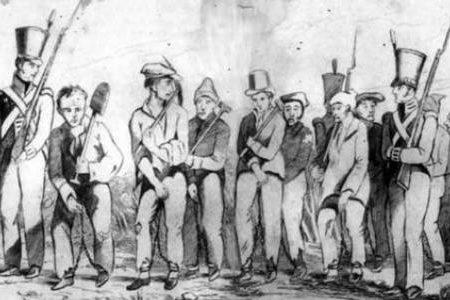 La colonización de Australia mediante el uso de convictos
