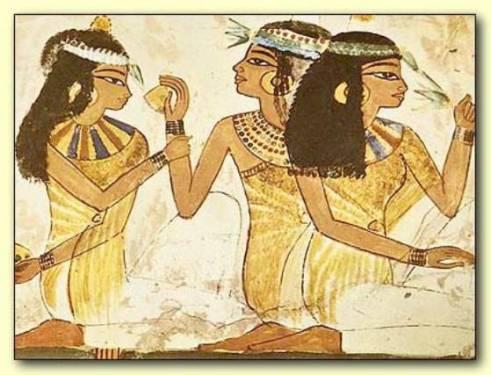 Los cosméticos en Egipto
