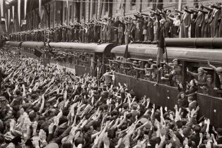 La División Azul, combatientes españoles en la II Guerra Mundial