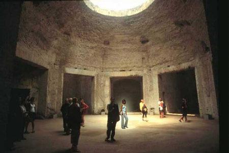 La Domus Áurea, residencia del emperador Nerón