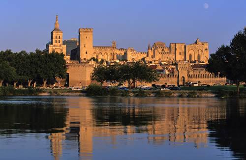 el palacio papal de Avignon